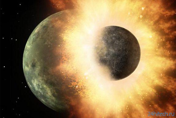 Луна заметно помолодела