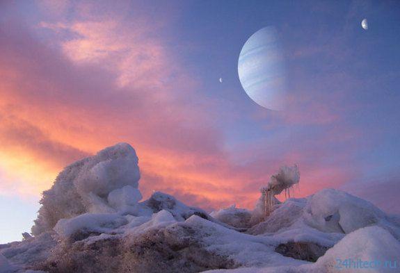 Луны экзопланет слишком маленькие для жизни
