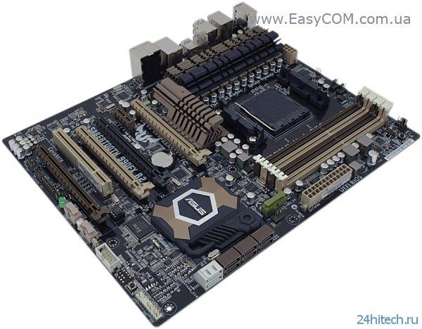 Материнские платы ASUS обеспечивают полную поддержку процессоров серии AMD FX-9000