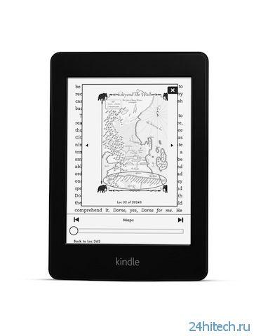 Новый Kindle Paperwhite от Amazon