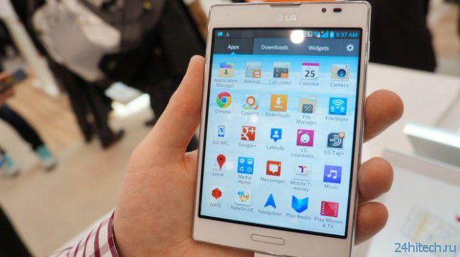 Новый фаблет LG будет стоить дешевле Galaxy Note 3