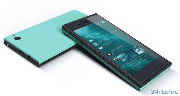 Объявлены официальные характеристики смартфона Jolla на Sailfish
