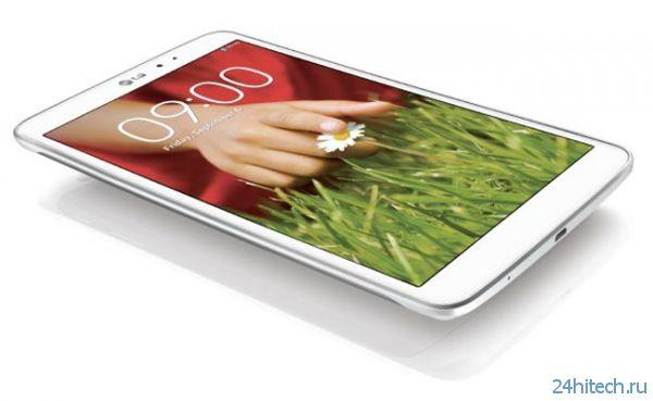 Официальный анонс планшета LG G Pad 8.3