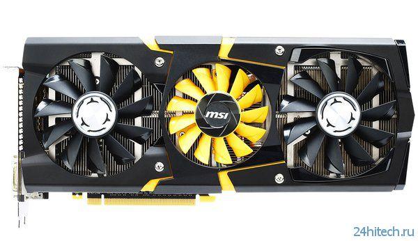 Официальный анонс высокопроизводительной видеокарты MSI GeForce GTX 780 Lightning