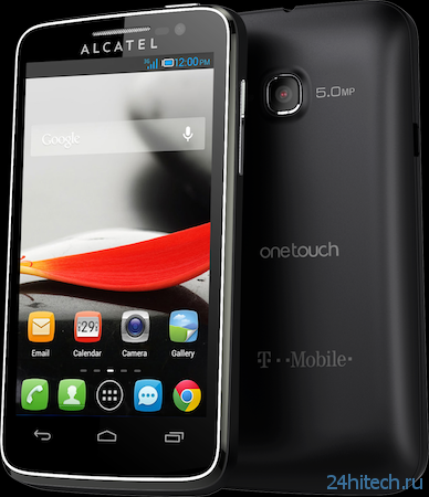 One Touch Evolve и One Touch Fierce - бюджетные смартфоны от Alcatel (2 фото)