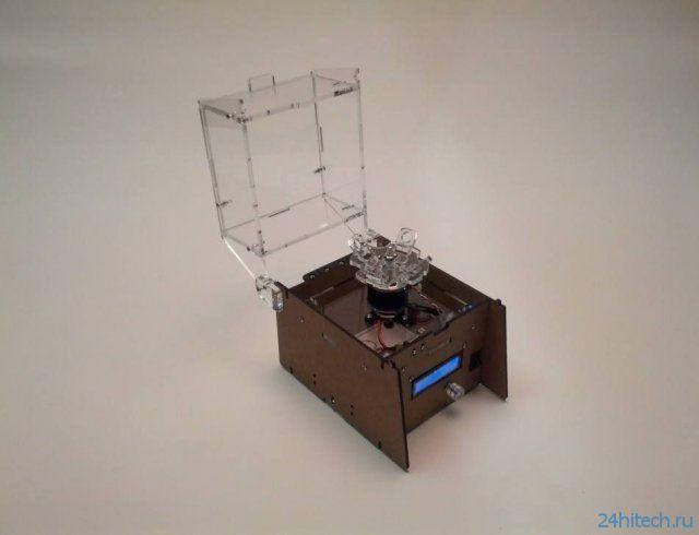 OpenFuge - самодельная центрифуга (2 фото + видео)