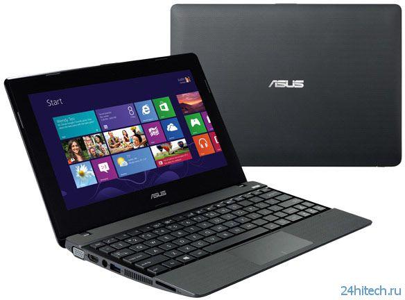 Основой ультрапортативного ноутбука Asus X102BA с сенсорным экраном размером 10,1 дюйма служит APU AMD A4-1200