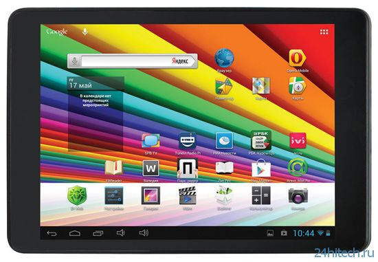 """Первый ультратонкий планшет Ritmix с 7,85"""" IPS-экраном"""