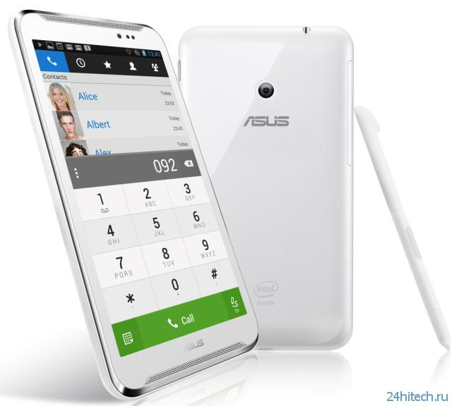 Представлен 6-дюймовый планшет ASUS Fonepad Note 6 с полным набором телефонных функций