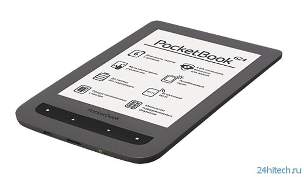 Ридер PocketBook 624 с технологией Film Touch