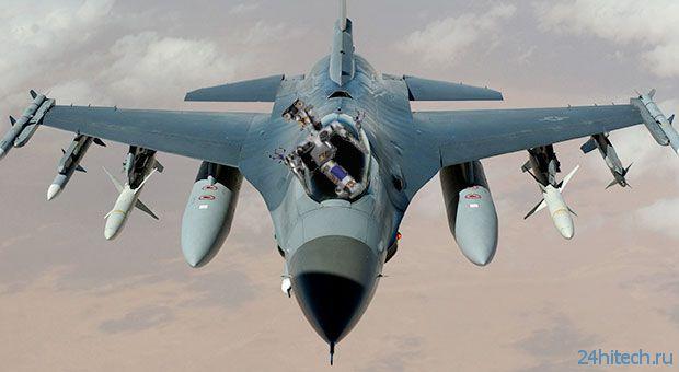 Робот-пилот для истребителя F-16 (видео)