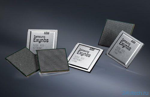 Samsung также планирует применять 64-битные процессоры в смартфонах