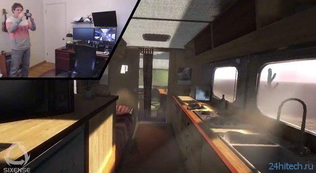Sixense Stem позволит уходить в виртуальную реальность с мобильных устройств (видео)