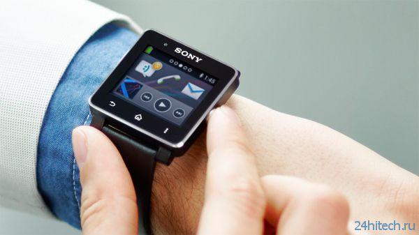 """Sony анонсировала новые """"умные часы"""" — Smartwatch 2"""