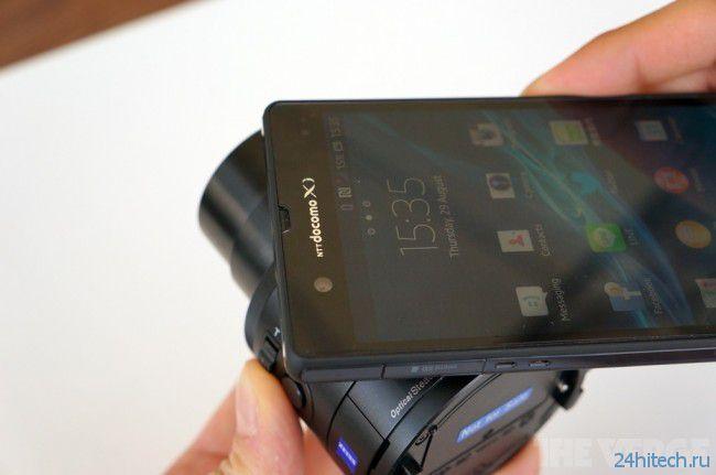 Sony представила «умные объективы» для смартфонов