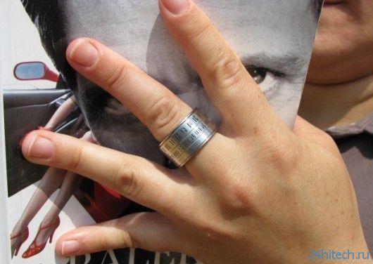 The Ring Clock: часы для вашего пальца