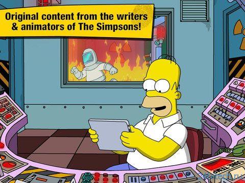 The Simpsons: Tapped Out 4.3.0 Строим свой Спрингфилд