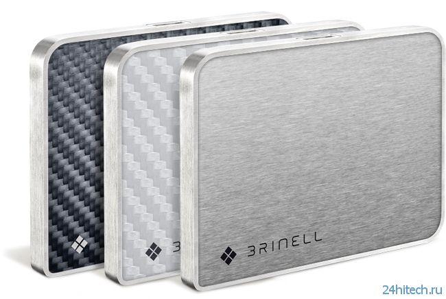 Твердотельные диски brinell SSD в корпусах со специальной отделкой