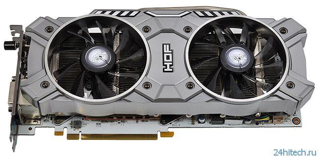 Ускоритель KFA2 GeForce GTX 780 HOF Edition с заводским разгоном