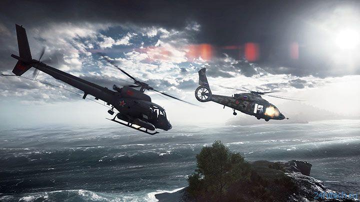 В Battlefield 4 появится тренировочный полигон для бронетехники и авиации