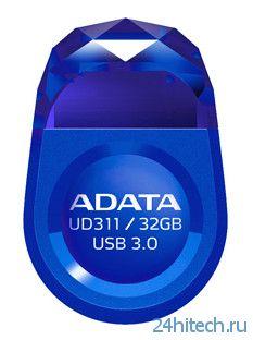 ADATA DashDrive Durable UD311 – новый флеш-накопитель с интерфейсом USB 3.0 и элегантным дизайном