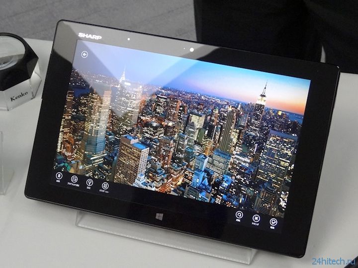 CEATEC 2013: планшет Sharp Mebius Pad с IGZO-дисплеем высокого разрешения