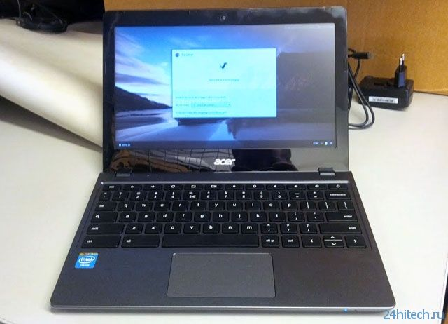 Грядущий хромбук Acer C720 на базе Haswell может получить сенсорный экран