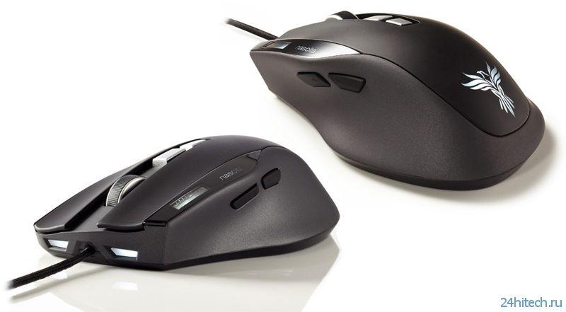 Игровая лазерная мышь Feenix Nascita со встроенным ЖК-дисплеем