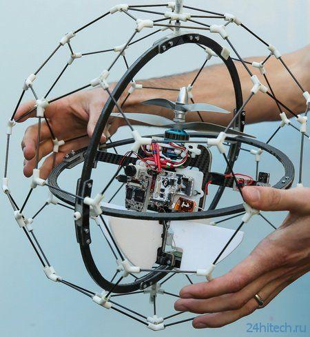Летающие роботы препятствий уже не боятся