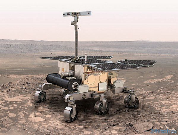 Марсоход ExoMars начинает испытания в Чили