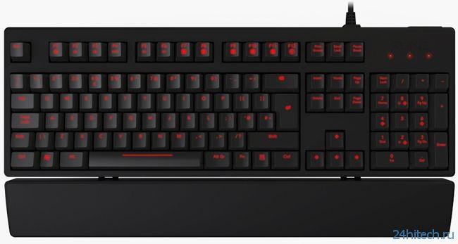 Начаты поставки игровой механической клавиатуры Func KB-460