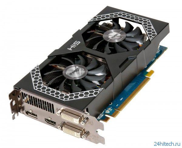 Новая видеокарта HIS Radeon R7 260X iPower IceQ X2 с улучшенным дизайном платы и кулера