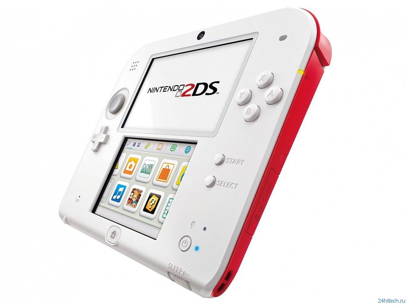 Обзор карманной консоли Nintendo 2DS