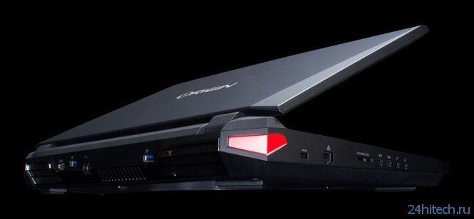 Origin PC представила обновлённый игровой ноутбук EON17-SLX