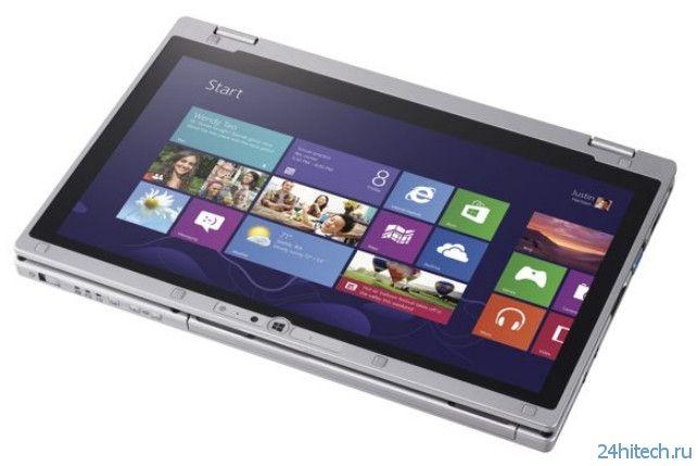 Panasonic представила ультрабук «два в одном» Toughbook CF-AX3