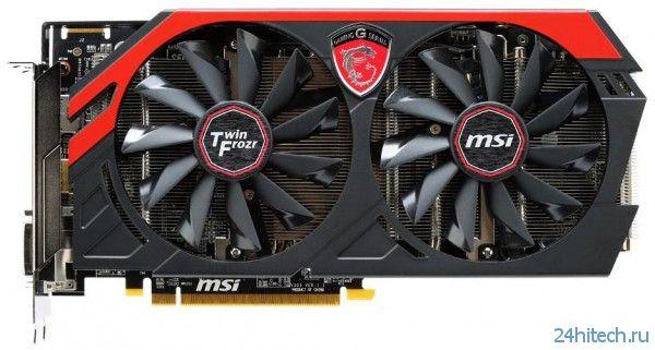 Подробный взгляд на видеокарты серии MSI Radeon R9 270X