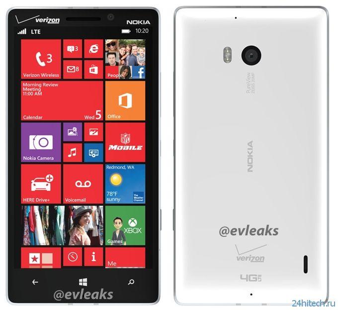 Появились изображения смартфона Nokia Lumia 929