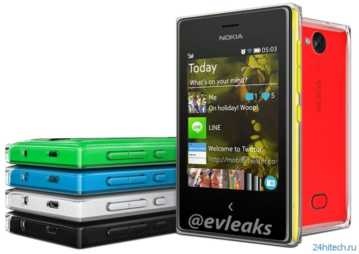 Раскрыты характеристики телефонов Nokia Asha 502/503