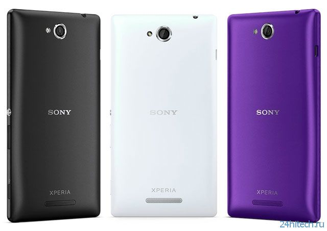 Смартфон Sony Xperia C поступит в продажу в октябре по цене 12 990 руб.