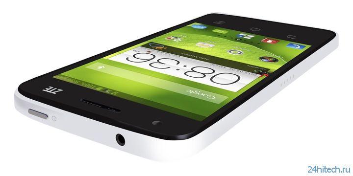 Смартфон ZTE Nubia 5 представлен официально