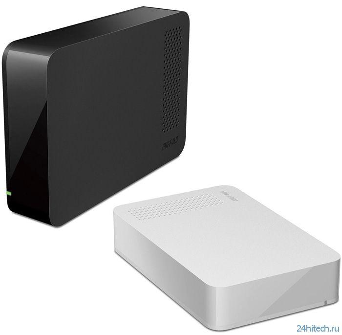 Ёмкие внешние винчестеры Buffalo HD-LCU3 Series с интерфейсом USB 3.0