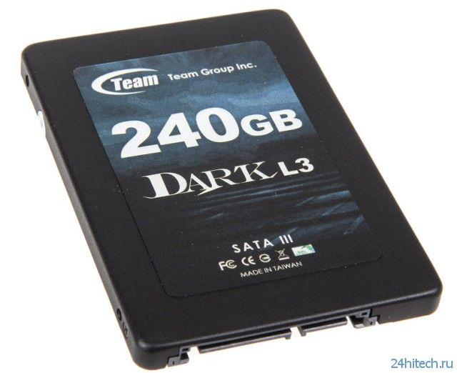 Доступный SSD-накопитель Team Group Dark L3