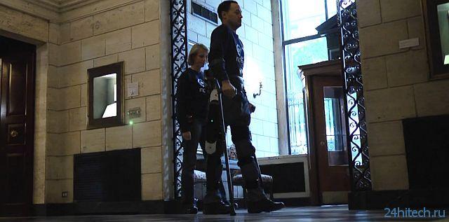 Экзоскелет Indego для парализованных людей (видео)
