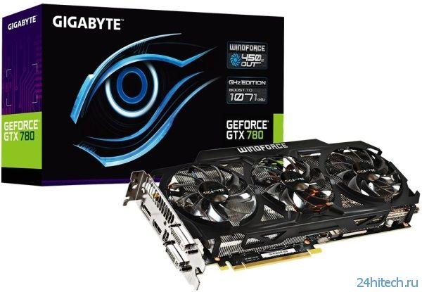Gigabyte воплощает в жизнь GeForce 780 GHz Edition