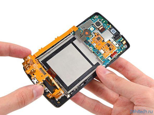 Google Nexus 5 - взгляд изнутри (14 фото)