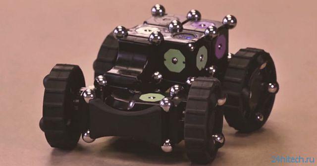 Конструктор для создания роботов MOSS (4 фото + видео)