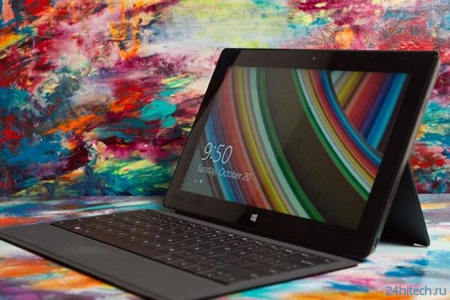 Microsoft «прокачала» батарею планшета Surface Pro 2