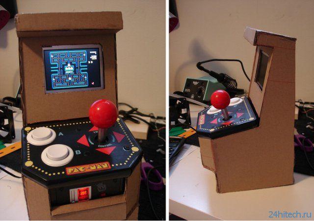 Миниатюрный аркадный автомат на Raspberry Pi (6 фото + видео)