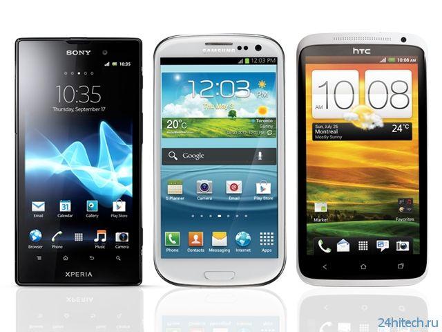 Российский рынок смартфонов насыщается