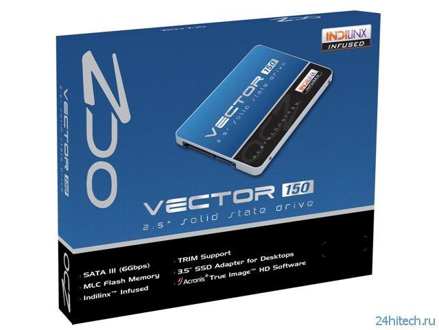 Серия высокопроизводительных SSD-накопителей OCZ Vector 150 на основе 19-нм микросхем